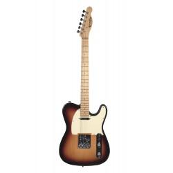 Guitare électrique Prodipe TC80MA sunburst