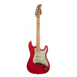 Guitare électrique Prodipe ST80 MA Fiesta Red