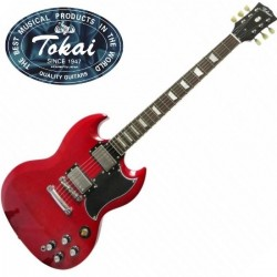 Guitare électrique Tokai SG52 Cherry