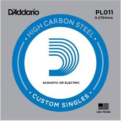 Corde de guitare Daddario PL011