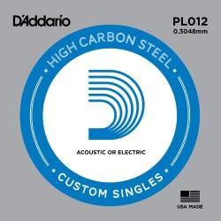 Corde de guitare Daddario PL012
