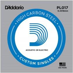 Corde de guitare Daddario PL017