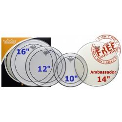 Pack de peaux Remo Pinstripe 10-12-16-14