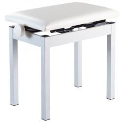 Banquette  piano métallique Korg PC-300WH