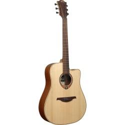 Guitare folk acoustique pan coupé Lag Tramontane T70DC