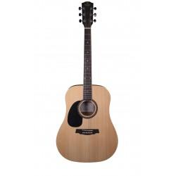 Guitare folk gaucher Prodipe LHSD25