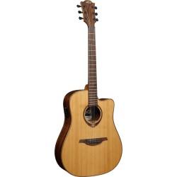 Guitare folk électro-acoustique Lag Tramontane T118DCE