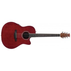 Guitare électro-acoustique Applause Balladeer AB24II-RR Ruby Red
