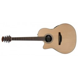 Guitare électro-acoustique gaucher Ovation Celebrity standard CS24L-4 naturelle