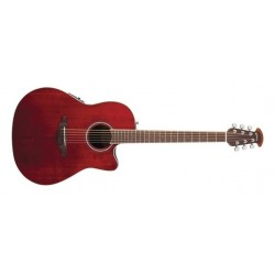Guitare électro-acoustique Ovation Celebrity CS24-RR Ruby red
