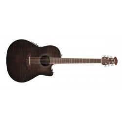 Guitare électro-acoustique Ovation Celebrity CS24P-TBBY transparent blackburst