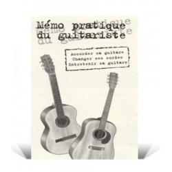 Mémo pratique du guitariste Coup de Pouce