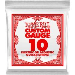 Corde de guitare Ernieball 010 à l'unité