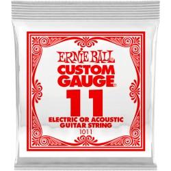 Corde de guitare Ernieball 011 à l'unité