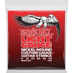 Cordes guitare électrique Ernieball 11-52 sol filé