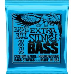 Cordes de basse 40-95 Ernie Ball Extra Slinky