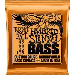 Cordes de basse 45-105 Ernie Ball Hybrid Slinky