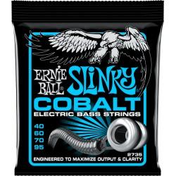 Cordes de basse Ernie Ball Cobalt Extra Slinky 40-95