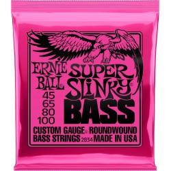 Cordes de basse 45-100 Ernie Ball Super Slinky