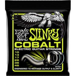 Cordes guitare électrique 10-46 Ernieball Cobalt