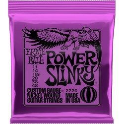 Cordes guitare électrique 11-48 Ernieball Power Slinky