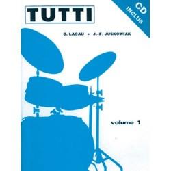 Méthode de batterie Tutti volume 1