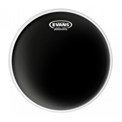 Peau de tom de 8 Evans Black Chrome