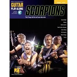 Guitar play along Scorpions