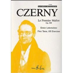 Czerny Le premier maître Op,599