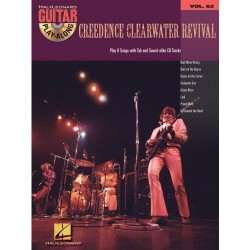 Creedence Clearwater Revival guitar play along vol 63