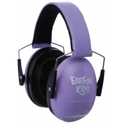 Casque anti-bruit Acoufun junior parme