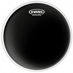 Peau de tom de 13 Evans Black Chrome