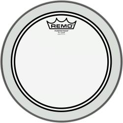 Peau de tom de 10 Remo Powerstroke 3 transparente
