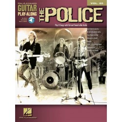 Guitar play along Police Volume 85 Tab CD
