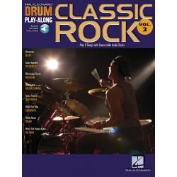 Drum Play Along Classic rock volume 2 CD