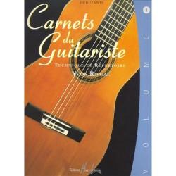 Les Carnets du guitariste vol.1