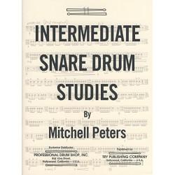 Intermediate snare drum studies Mitchell Peters