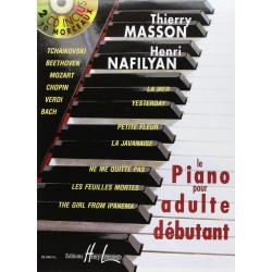Le piano pour adulte débutant Thierry Masson