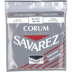 Cordes de guitare classique Savarez Alliance corum Rouge