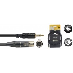 Cable de liaison mini Jack vers mini XLR pour système sans fil