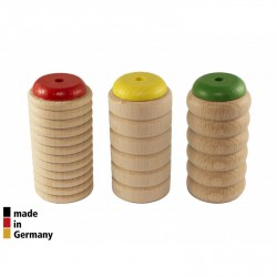 Lot de 3 Scrapy shakers Rohema