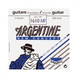 Jeu de cordes guitare acoustique Argentine 1610MF boules