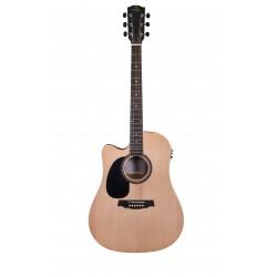 Guitare folk gaucher électro Prodipe LH SD25 CEQ