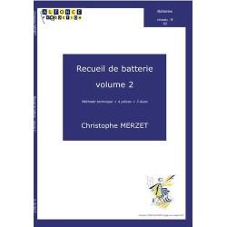 Méthode de batterie Christophe Merzet volume 2