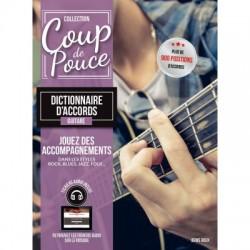 Coup de pouce dictionnaire d'accords guitare