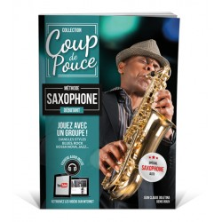 Méthode coup de pouce Saxophone MF924NV