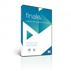 Editeur de partition Finale 26 PC MAC