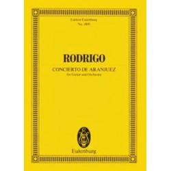 Conducteur de poche Concerto d'Aranjuez orchestre