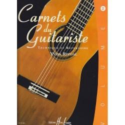 Les Carnets du guitariste vol.2