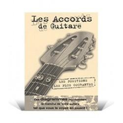 Mini dictionnaire d'accords guitare Coup de Pouce